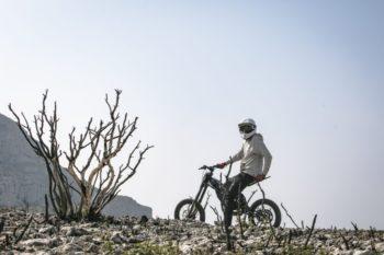 Kuberg Freerider Offroad im Gelände
