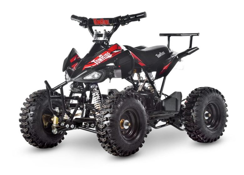 Electric-ATV-TR240-Black-and-red-TomRide